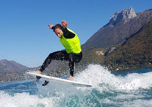 Wakesurf skiwake74 Lac d'Annecy G21